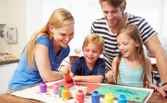 Рисуем семьей