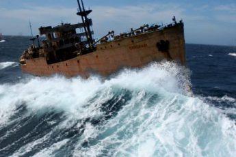 Спустя 90 лет вернулся корабль из Бермудского треугольника