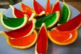 Супер желе - Апельсиновые дольки