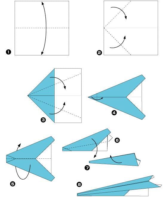 origami-samolet