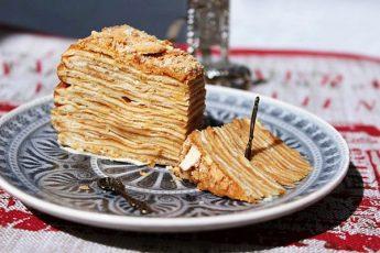 Вкуснейший торт Крепвиль от французов