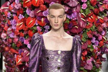 Испанский дизайнер моды, удивил мужской коллекцией одежды
