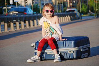Что взять с собой, отправляясь на отдых с ребенком
