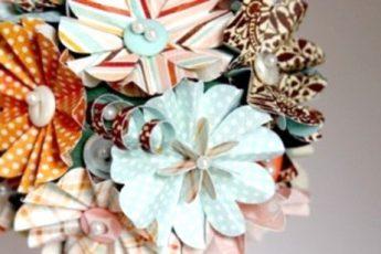 Красивые цветы из бумаги: обучающий МК для взрослых и детей